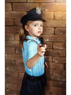 Kids Girls Policeman Officer Uniform