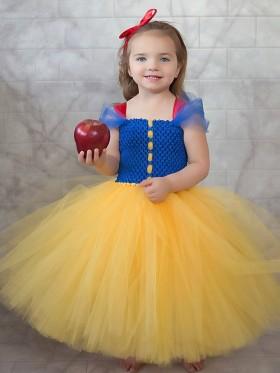 Kids Princess Snow White Costume