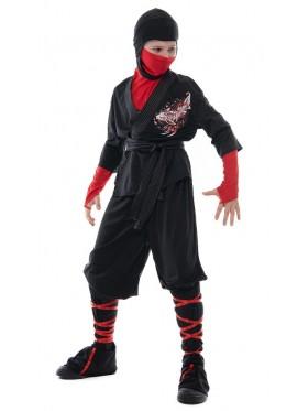Kids Ninja Kung Fu Costume
