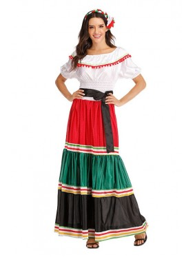 Woman Mexico Spanish Costume