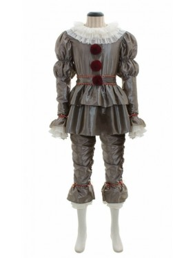 Adult Pennywise Clown Suit Outfit Set
