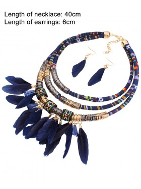 Tribal Jewellery Necklace Earrings Ladies