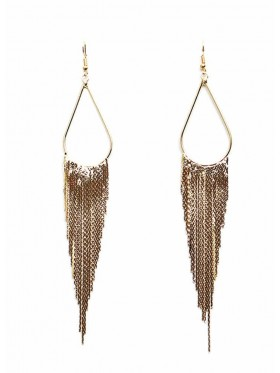 Vintage Bohemian tassels earrings