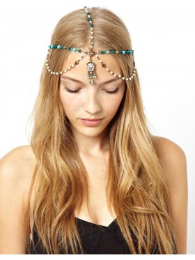20s Deco Vintage Hairband Chain Headband