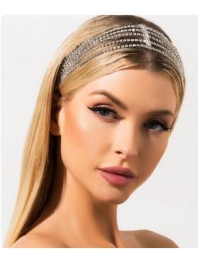 Ladies bohemian wedding hair chain Accessories