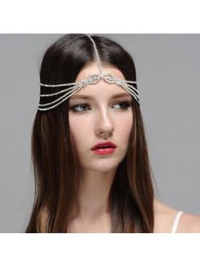 Ladies bohemian wedding hair chain Jewelry
