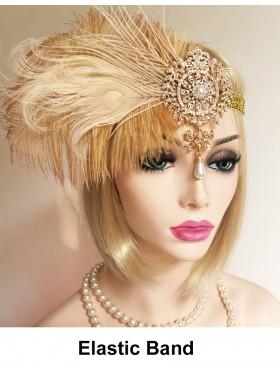 Ladies 20s Theme Hair Headband