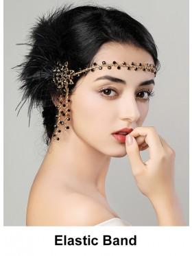 Ladies 1920s Vintage Flapper Headband