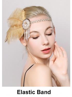 Ladies 20s Vintage Gatsby Flapper Headband