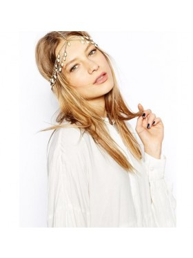 20s Deco Downton Boho Goddess Headband