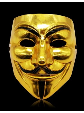 Golden Vendetta Mask