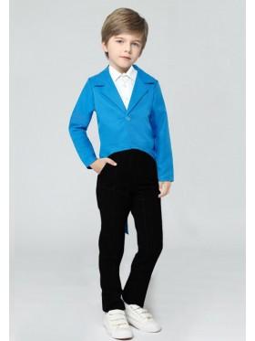 Blue Kids Tailcoat Magician
