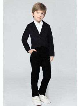Black Kids Tailcoat Magician