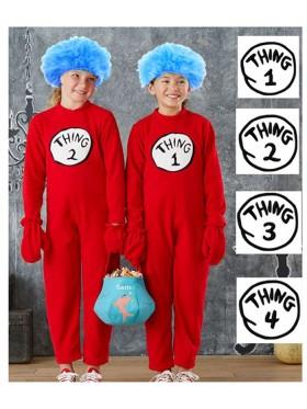Kids DR SEUSS CAT IN THE HAT COSTUME