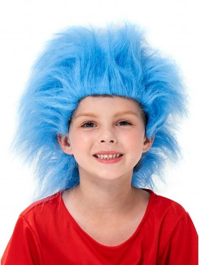 Kids Dr Seuss Cat In The Hat Wig