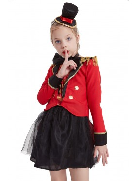 Child Magician Circus Costume