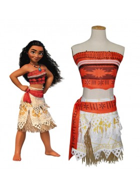 Moana Polynesia Princess Dress Girls Child Kids BookWeek Hawaiian Girls Costume Book Week