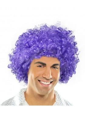 Purple Funky Afro Wig