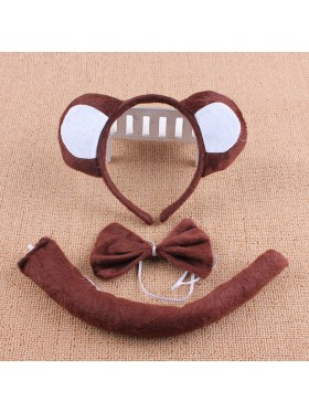 A set of monkey costume kids accessory