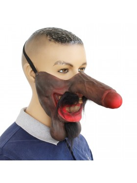 Willy Face Mask Dick Nose
