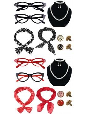 50s Womens Costume Accessories