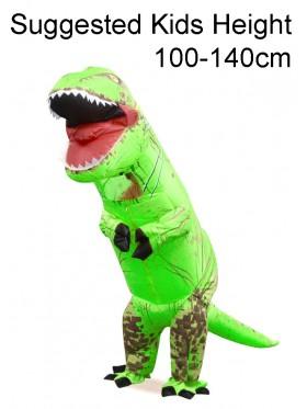 Child Green T-REX Costume