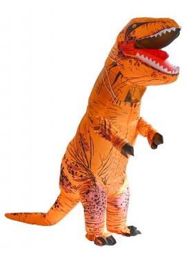 Orange T-REX Costume