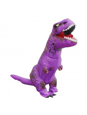 Purple T-REX Costume