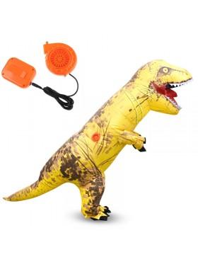 Yellow ADULT T-REX INFLATABLE Costume Jurassic Blowup Dinosaur TRex T Rex
