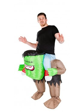 frankenstein Monster carry me inflatable costume