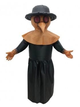 Bird Plague Doctor carry me inflatable fun costume