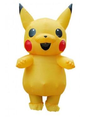 Adult and Kids Pikachu Inflatable Costume