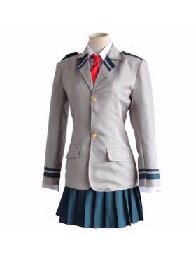My Boku no Hero Academia Ochako Uraraka Anime Cosplay Costume Suit