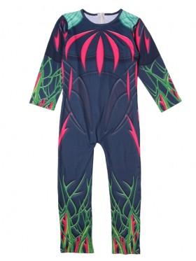 Kid Halloween Fortnite Costume Flytrap Cosplay Jumpsuit