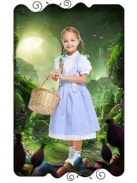 Dorothy The Wizard of Oz Girls Costume Book Week Dress Kids Child