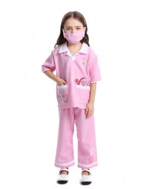 Child Nurse Doctor Girls Hospital Vet Book Week Kids Costume