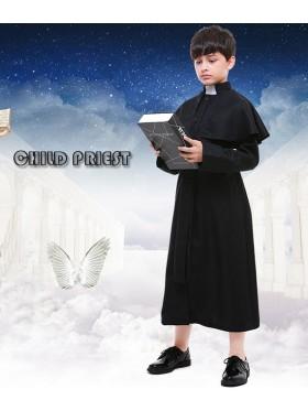 Priest Boys Book Week Costume Religious History Kids Book Week Day