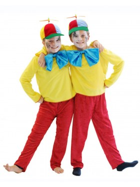 Tweedle Dee Dum Kids Costume Propeller Hat