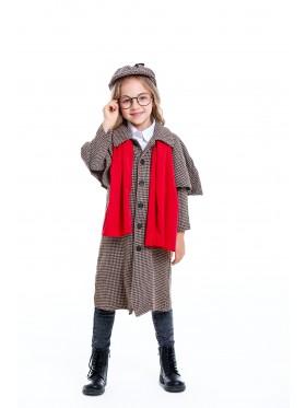 Kids Sherlock Holmes Costume