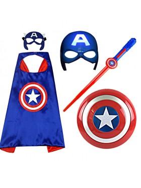 Captain America Kids Costume Toy Set