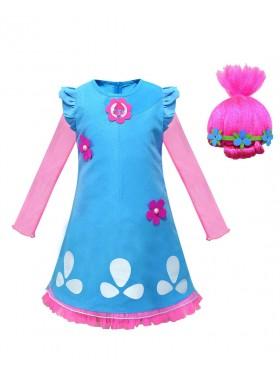 Child Poppy Trolls 2 Costume