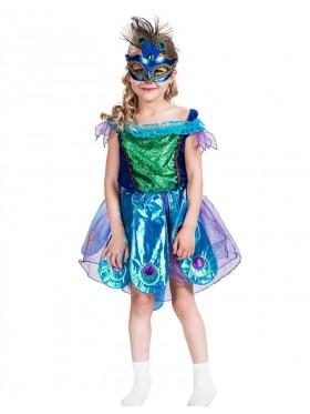 Kids Peacock Girls Costume