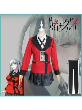 Kakegurui Gambler Yumeko Cosplay Costume