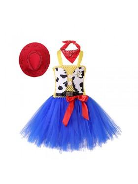 Girls Toy Story Jessie Cowgirl Tutu Dress