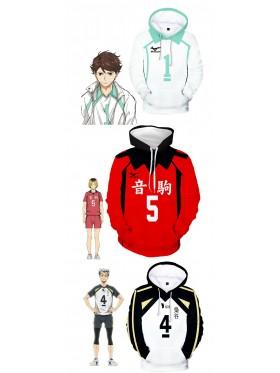Haikyu Volleyball Sports Jersey Uniform Costume