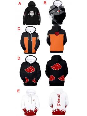 Naruto Hoodie Jacket Costume