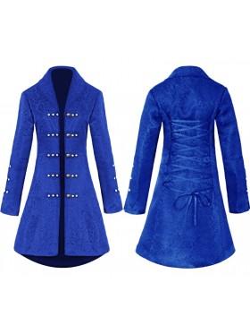 Ladies Blue Vintage Tailcoat