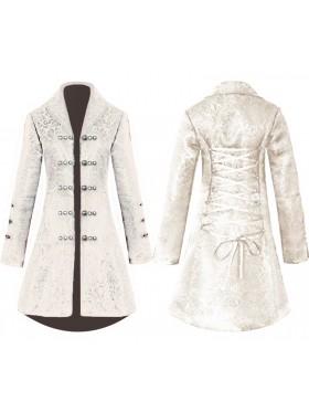 Ladies Cream Vintage Tailcoat