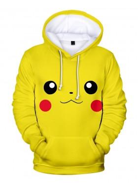 Kids Anime Pokemon Pikachu Hoodie