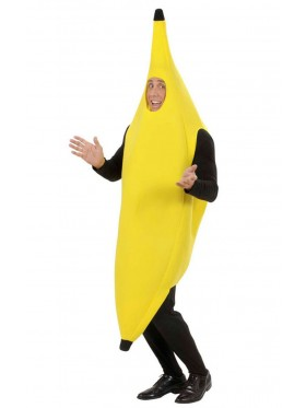 Adult Unisex OneSize Funny Banana Suit Yellow Costume Fancy Dress Party Costumes